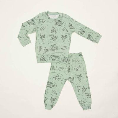 E21K-75P101 , Pidžama za bebe dečke